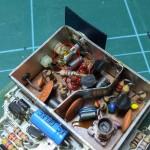 Modulator resistor to be desoldered