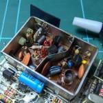 Modulator resistor disconnected from socket