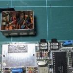 Modulator removed from main board